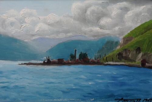 1969. Байкал, масло