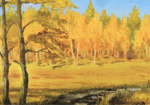 1981. Бурятия. Осень, масло