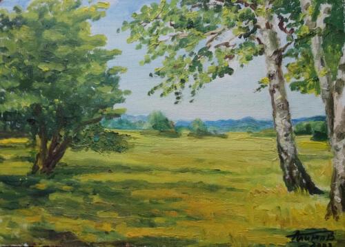 2002. Пейзаж, масло