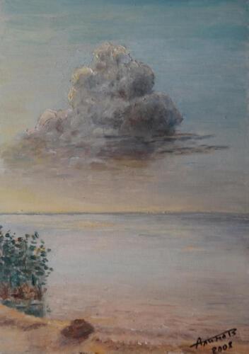 2008. Ладога, масло