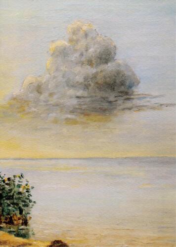 2008. Ладога. Облако, масло